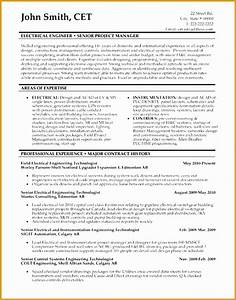 sample resume of an electrical engineer - 8 senior executive manufacturing engineering resume free