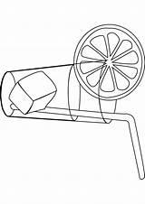 Lemonade Coloring Pages Stand Handout Printable Drawing Below Please Getdrawings Getcolorings sketch template
