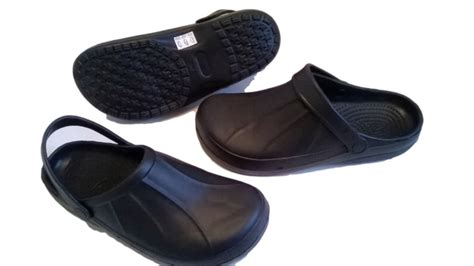 Full Kitchen Clogs Black Chefs Shoes Safety Footwear