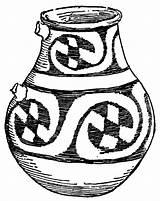 Pottery Jar Clipart Ceramic Clip Ceramics Mexican Lg Cliparts Library 20clipart Etc Medium Usf Edu sketch template