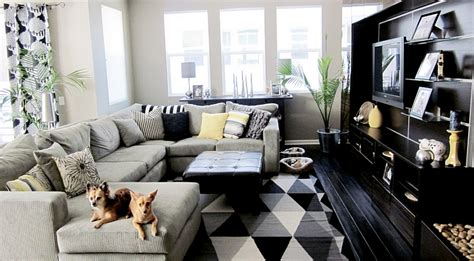 Ideas For Black And White Living Room : Black And White Living Rooms Design Ideas