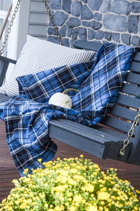 Cozy Flannel Blanket Diy Stonegable