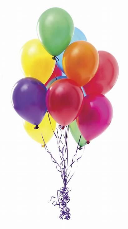 Balloons Balloon Birthday Party Rsvp Helium Transparent