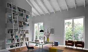 Bücherregal Mit Leiter : b cherregal mit leiter sind wieder im trend jetzt lesen ~ Watch28wear.com Haus und Dekorationen