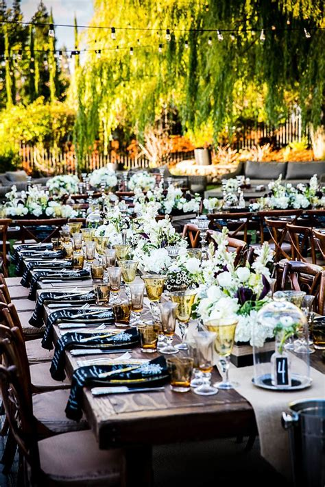 an chic outdoor wedding from arrowood modwedding