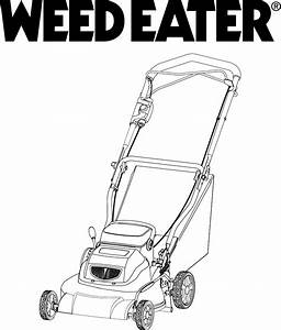 Instruction Manual For Weedeater Lawn Mower
