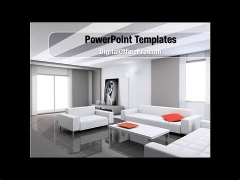 interior design  living room powerpoint template