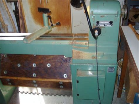 general  industrial wood lathe model  vd