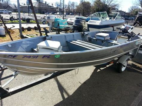 Aluminum Boats Gregor by Gregor Aluminum Boat For Sale