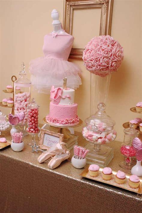 Ballerina Birthday Party Ideas  Photo 8 Of 37  Catch My