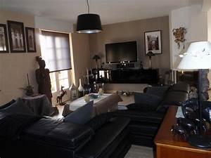 deco idees meilleures images d39inspiration pour votre With meuble salon couleur taupe 9 cuisine rouge mur couleur