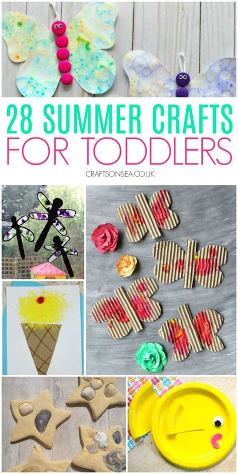 easy  fun summer crafts  toddlers summer crafts