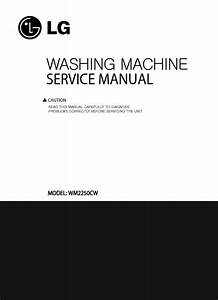 Lg Wm3050cw Service Manual