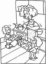 Coloring Parents Pages Parent Mother Printables Sheets Dad Getcoloringpages sketch template
