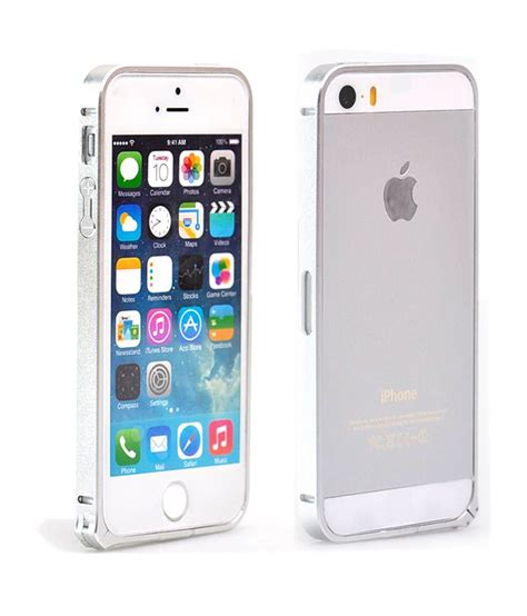 iphone 5 silver ikases bumper for apple iphone 5 silver buy ikases
