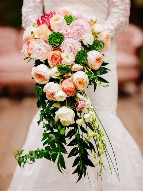 Wedding Bouquets by 15 Cascading Wedding Bouquets