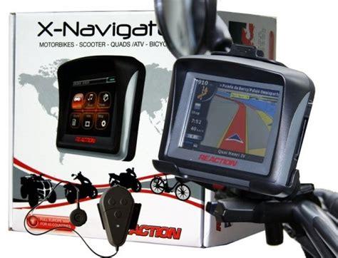 navi für roller reaction x navigator plus gps navi navigationssystem roller motorrad ebay