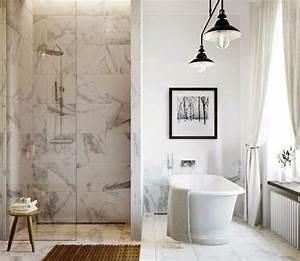 Marbre Salle De Bain : salle de bain effet marbre noir ~ Dailycaller-alerts.com Idées de Décoration