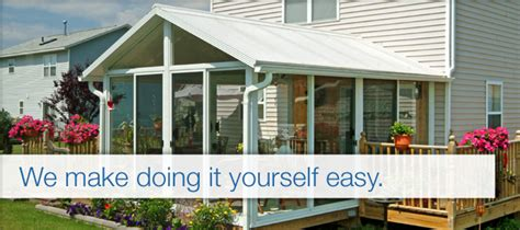 Patio Room Kits Sale by Diy Sunroom Kits Plans For Prefab Sunrooms Great Day