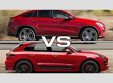 Mercedes GLE 450 AMG coupe vs Porsche Macan GTS YouTube