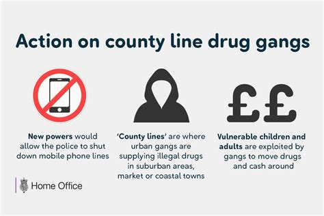 Government takes action on county line drug gangs - GOV.UK