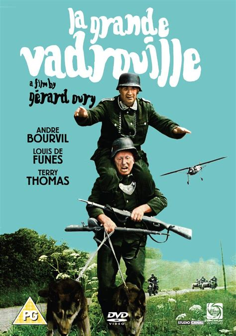 În 1942, nemții prăbușesc un avion peste paris. La Grande Vadrouille French movie with Louis de Funès and ...