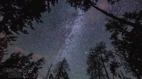 4k Time Lapse Of Milky Way, Perseids, Northern Lights