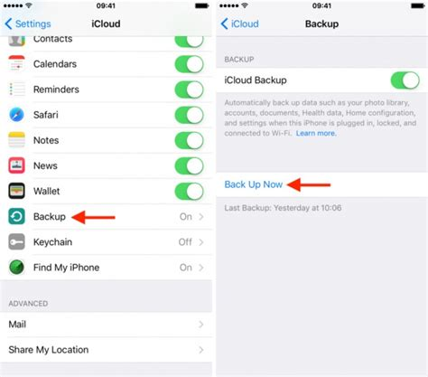 backup my iphone how to restore from icloud backup without reset