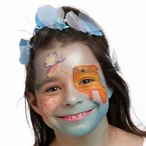 Modele Maquillage Carnaval Facile : mod le de maquillage enfant reine du lac id es conseils et tuto maquillage ~ Melissatoandfro.com Idées de Décoration