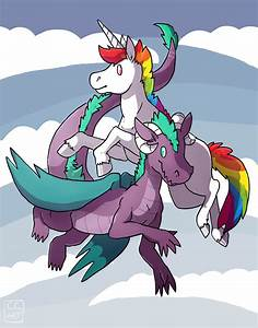 The gallery for --> Dragons And Unicorns Mating