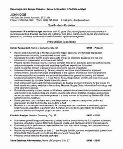 Resume Template Accountant Outstanding Accountant Resume Sample For Junior And Senior