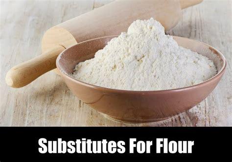 substitutes  flour kitchensanity