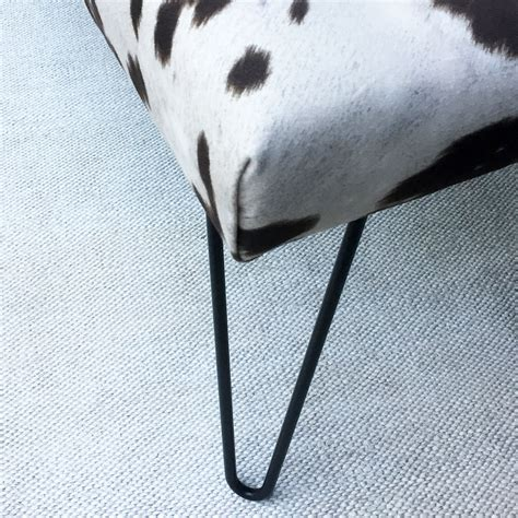 Cowhide Bench Seat by Cowhide Bench Seat Ministry Of Handmade