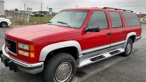 1994 Gmc Suburban 2500 4x4 6 5 Turbo Diesel For Sale