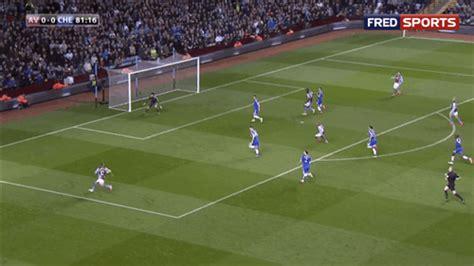 fabian delphs heel flick goal helps aston villa upset