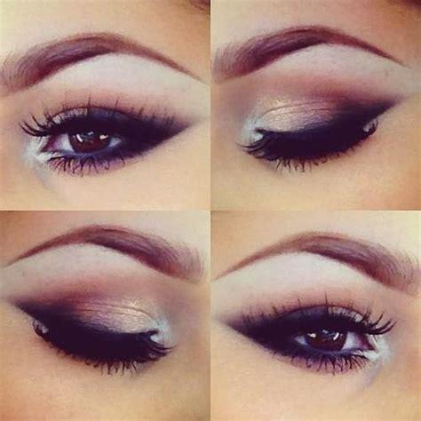 brown smoky eye