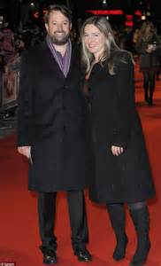 David Mitchell and his new wife Victoria Coren step out ...