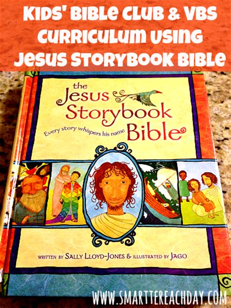 Backyard Bible Club Curriculum by A Simple Vbs Curriculum Using The Jesus Storybook Bible
