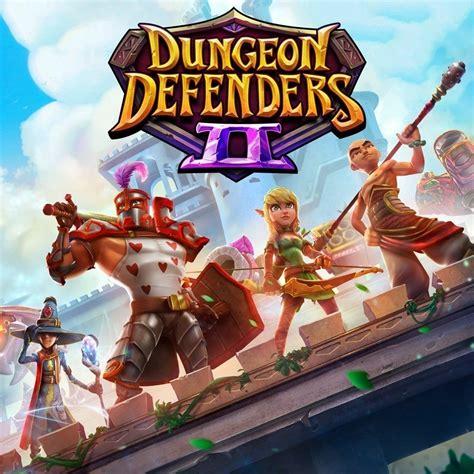 dungeon defenders ii games ign game dark hero endgame button dead phoenix entertainment