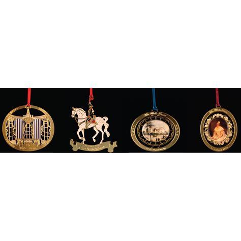 chemart 1990 to 1993 white house christmas ornament box