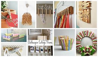 Clothespin Diy Projects Decorate Interiors