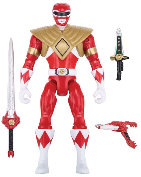 Power Rangers Legacy Mighty Morphin 5-Inch Armored Red ...