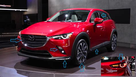 Mazda Unveils 'exquisite And Edgy' Redesigned Cx-3 At New