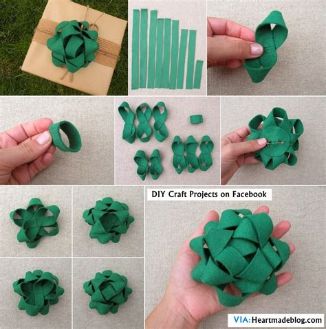 how to make a bow for a present diy felt gift bow topper diy craft projects