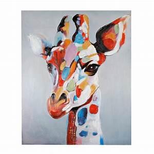 giraffe wall art talentneedscom With giraffe wall art