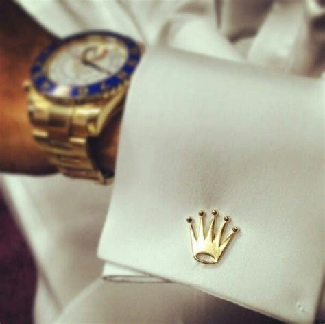 rolex logo cufflinks watches   cufflinks mens