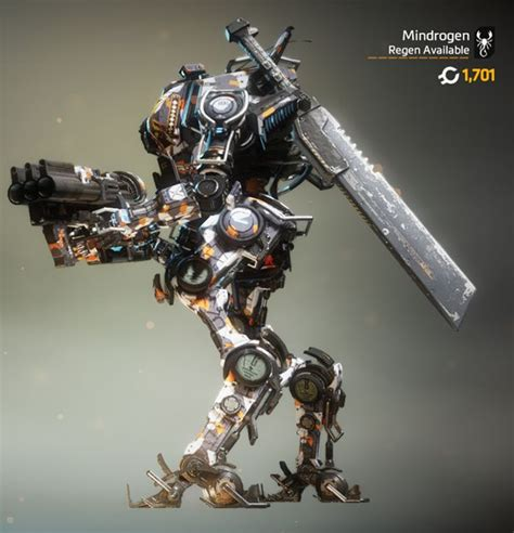 ronin   sword  warship collage camo titanfall