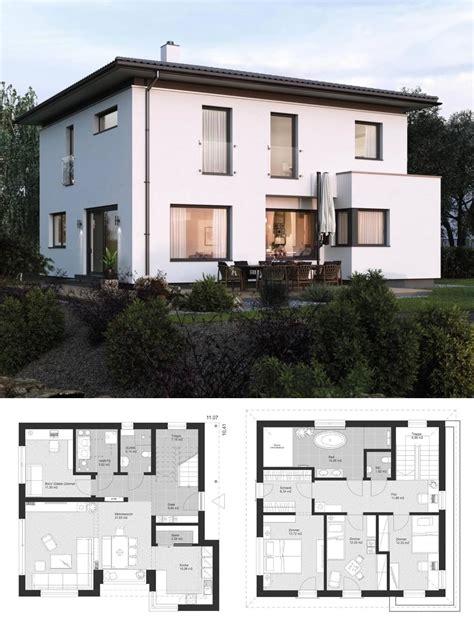 Stadtvilla Modern Mit Anbau by Moderne Stadtvilla Grundriss Klassisch Mit Walmdach