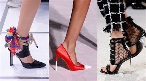 2018 Trends Something Borrowed And Plenty That Is New: Footwear Trends Spring-Summer 2018