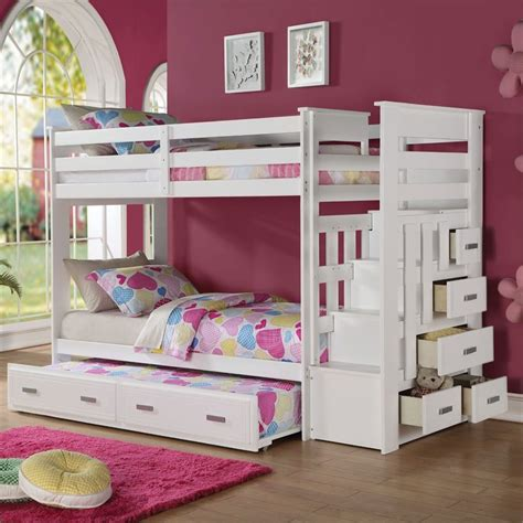 allentown bunk bed acme furniture allentown bunk bed with